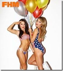Arianny Celeste & Brittney Palmer
