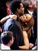 Chris Webber Tyra Banks pic
