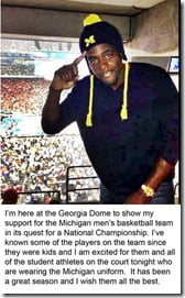 Chris Webber march madness 2013