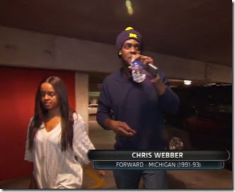 Chris Webber wife Erika Dates Webber