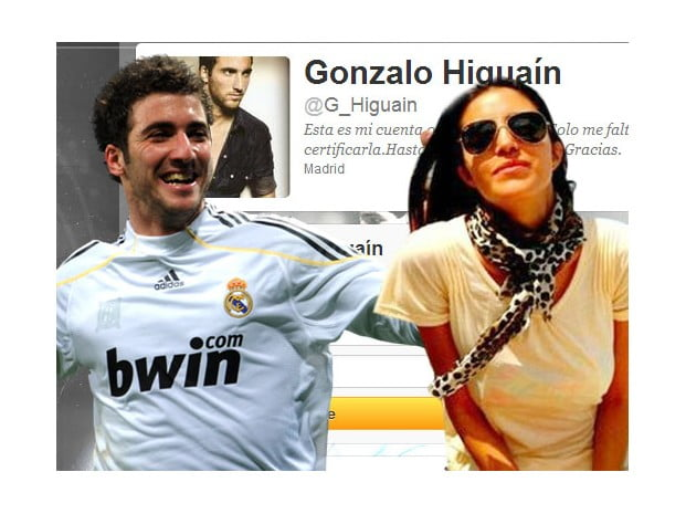 Daniela Saurwald Gonzalo Higuain girlfriend pictures