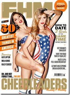 UFC Ring Girls Arianny Celeste and Brittney Palmer Hot Photos for FHM