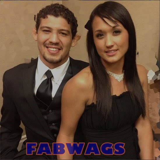 Keri Anne Taylor is MMA Gilbert Melendez's sexy Girlfriend/ Baby Mama