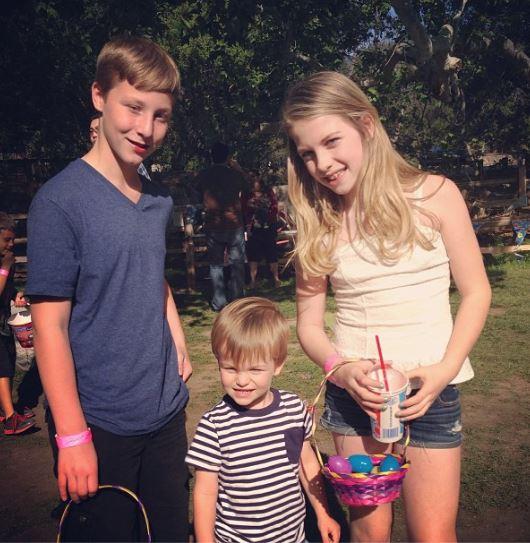 Michael Bisping Rebecca Bisping children