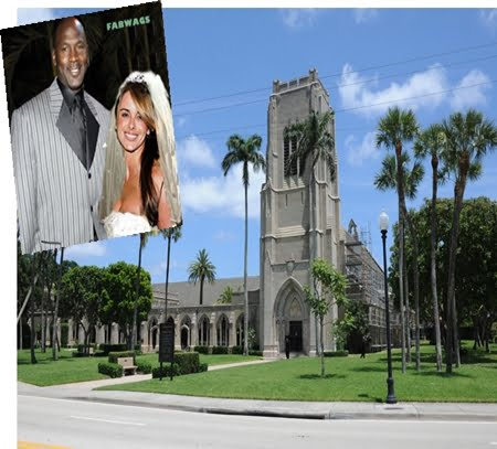 Michael Jordan and Yvette Prieto Wedding Photos