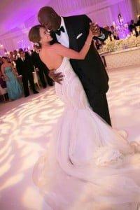 Michael Jordan Yvette Prieto wedding_pictures