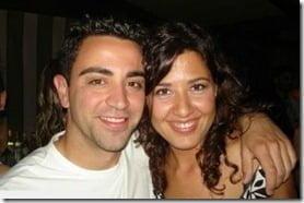Nuria Cunillera is Xavi Hernandez's Wife