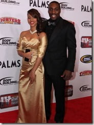 Phil Davis girlfriend Vantris Patterson