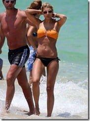 Roman Weidenfeller girlfriend Lisa Rossenbach