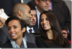 Tony Parker Girlfriend Axelle