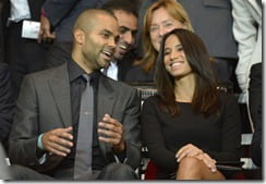 Tony Parker Girlfriend
