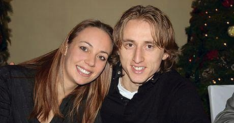 Vanja Bosnic Modric is  Luka Modric's Wife