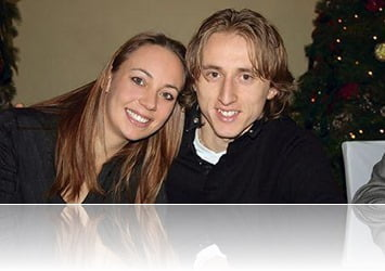 Luka Modric with beautiful, charming, Wife Vanja Bosnic