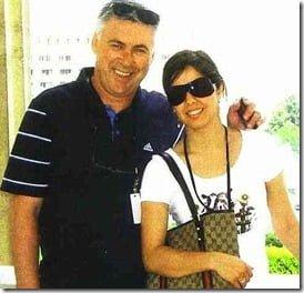 Marina Cretu- Paris Saint Germain coach Carlo Ancelotti's Ex-Girlfriend