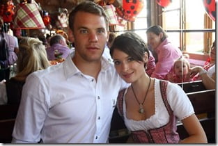 manuel neuer's girlfriend