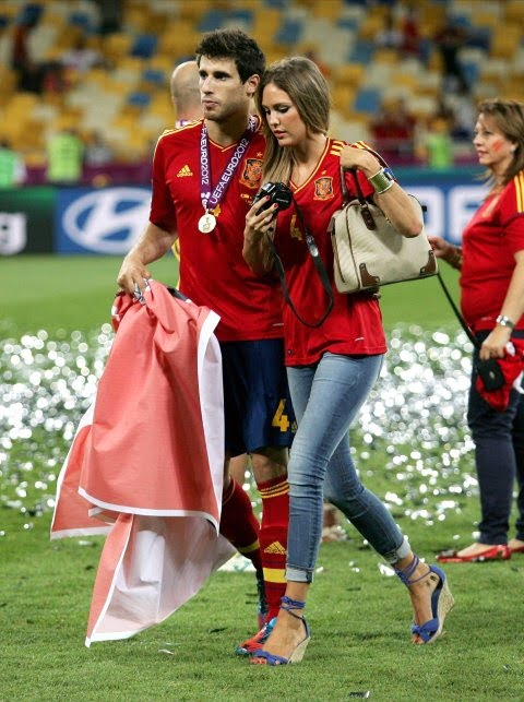 Maria Imizcoz- Javi Martinez' Girlfriend