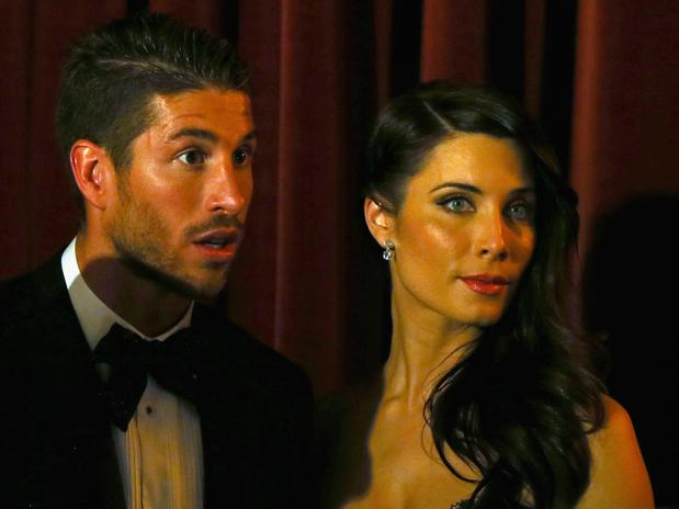 Pilar Rubio Real Madrid Sergio Ramos' Girlfriend