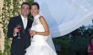 xavi Hernandez Nuria Cunillera wedding