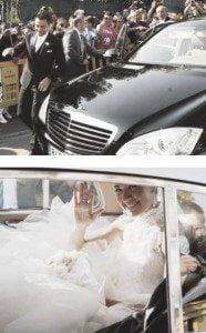 xavi Hernandez Nuria Cunillera wedding pic