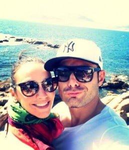 Adrian mutu wife Consuelo pic