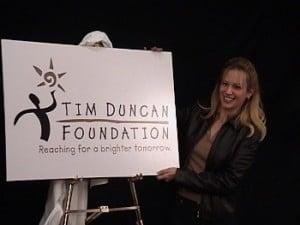 Amy Duncan the Tim Duncan foundation