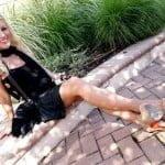 Angelica Cecora Oscar De La Hoya pic