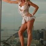 Angelica Cecora Oscar De La Hoya pics