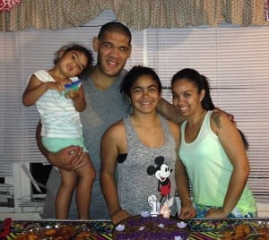 Antonio Bigfoot Silva wife Rosario Pimentel Silva pic