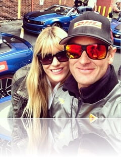 Beccy Gordon Ryan Hunte Reay wife pic