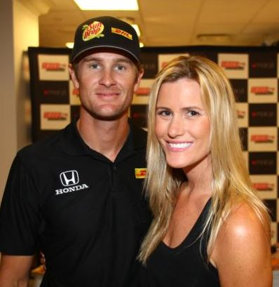 Beccy Hunter-Reay (Becky Gordon)- Indy 500 Ryan Hunter-Reay's Wife