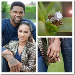 Faith Rein Udonis Haslem engagement ring
