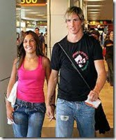 Fernando Torres wife Olalla Dominguez