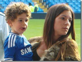 Fernando Torres wife Olalla Torres daughter