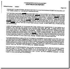 Floyd Mayweather Jr Josie Harris police report