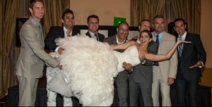 Lauren Bohlander Kanaan Tony Kanaan wedding picture