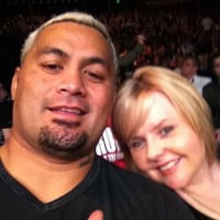 Mark Hunt wife Julie Hunt pic