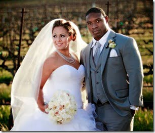 Maurice Jones-Drew and wife Ashley pic