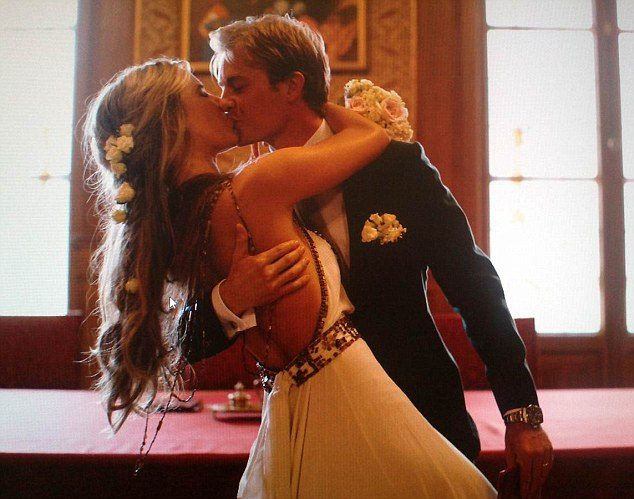 Nico Rosberg wedding Vivian Sibold