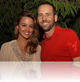 PGA Sergio garcia Girlfriend Nicole Horrex