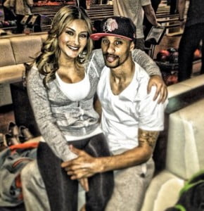 Samantha Garcia George hill girlfriend pic