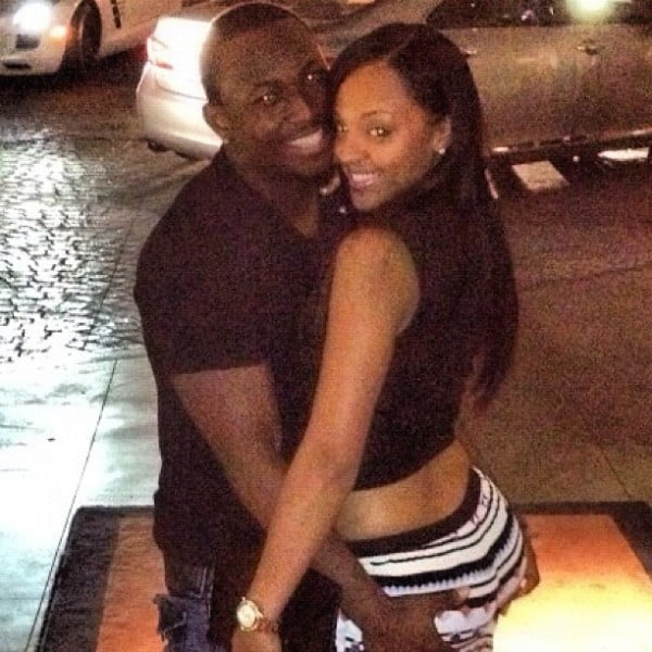 LeSean McCoy with Girlfriend Sydney Alex