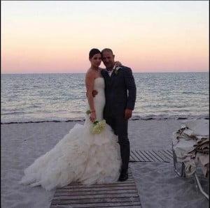 Tony Kanaan Lauren Kanaan wedding