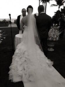 Tony Kanaan Lauren Kanaan wedding pic
