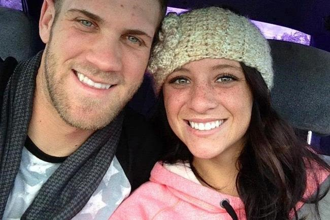 Bryce harper dating