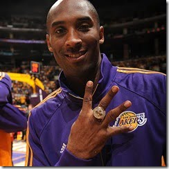 kobe's rings