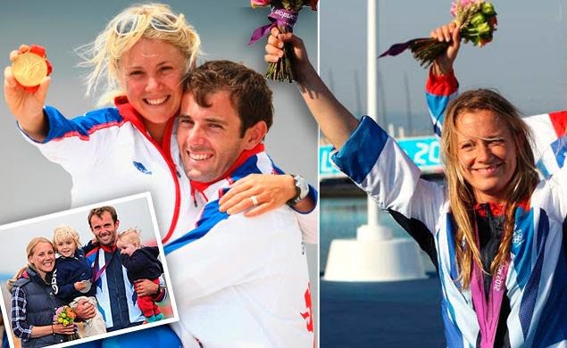 Olympic Sailor Sarah Ayton Dumped by Windsurfer Hubby Nick Dempsey for her Sailing Team Replacement Hannah Mills