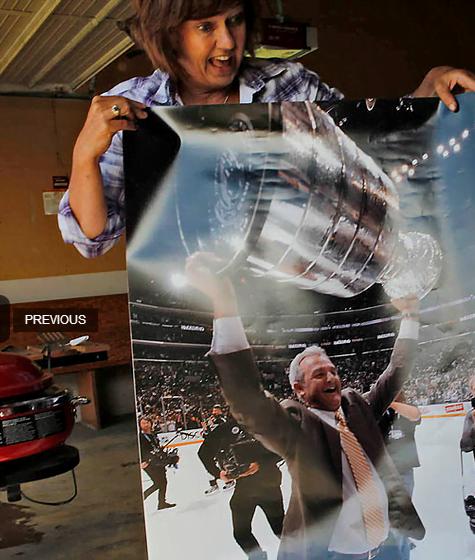 Wanda Sutter- LA Kings Coach Darryl Sutter's Wife