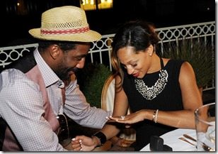 Amare Stoudemire Alexis Welch engagement