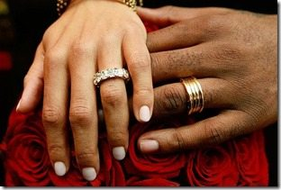 Amare Stoudemire Alexis Welch wedding rings