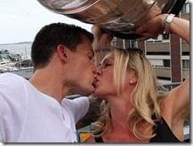 Andrew Ference wife Krista Bradford Ference